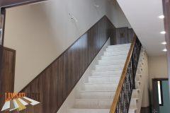 4-ламиниран-паркет-на-стена-на-стълбище